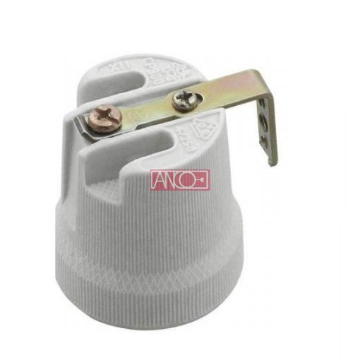 Bulb socket ceramic E27