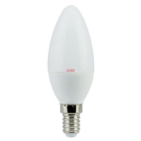 Gyertya LED fényforrás, E14, 6W