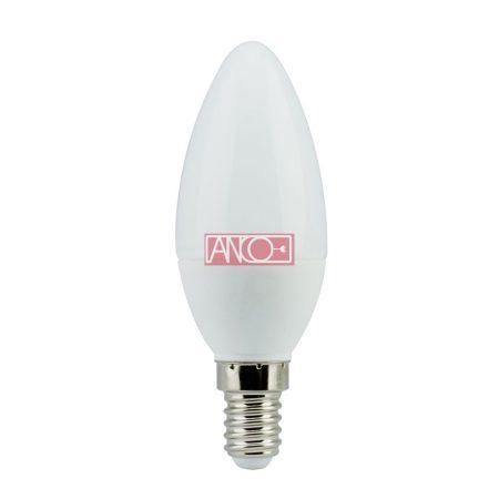Gyertya LED fényforrás, E14, 4W, 300Lm