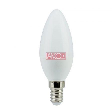 Gyertya LED fényforrás, E14, 4W