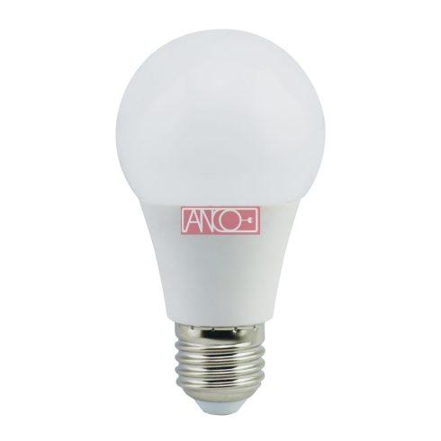 Körte LED fényforrás, E27, 8W