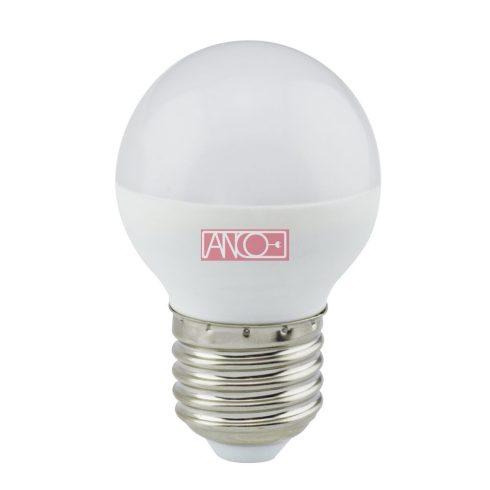 Gömb LED fényforrás, E27, 4W