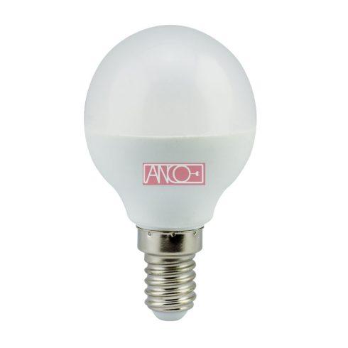 Gömb LED fényforrás, E14, 4W