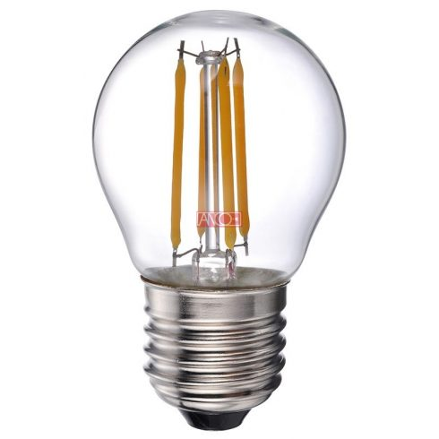Retro gömb LED fényforrás 4W
