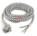 Vasaló kábel dugóval, 2m