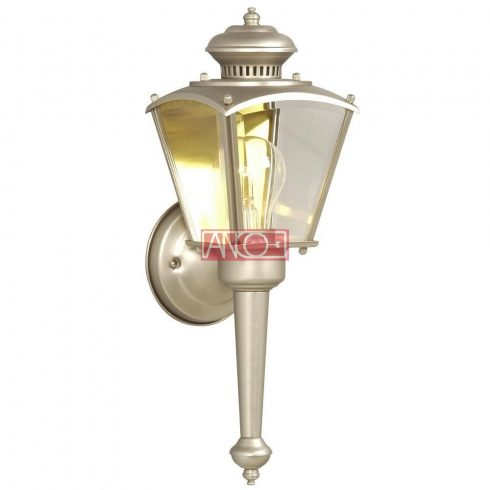 Outdoor wall lamp, E27, 60W, nickel