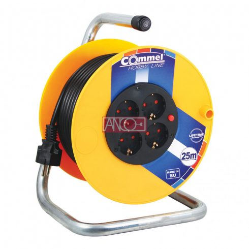 Cable drum 25 m, IP20