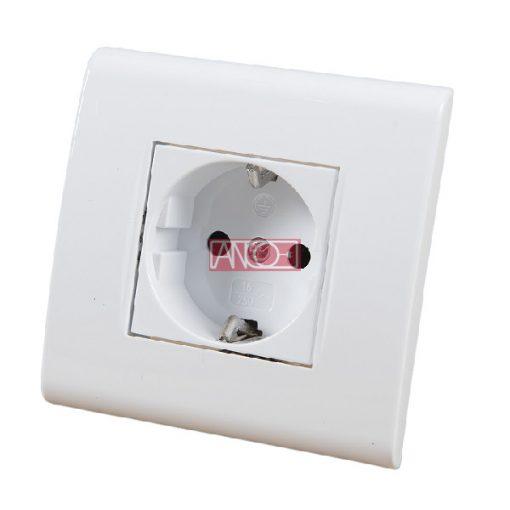Evian single grounding socket