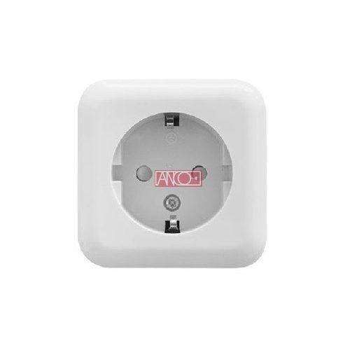 Austin grounding socket, white