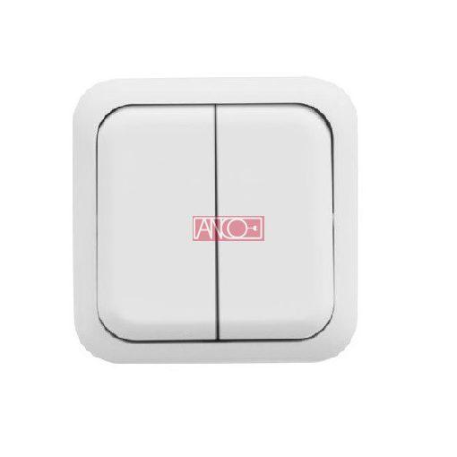 Austin serial switch, white