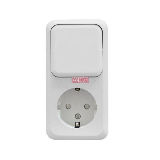 Austin socket + change-over switch