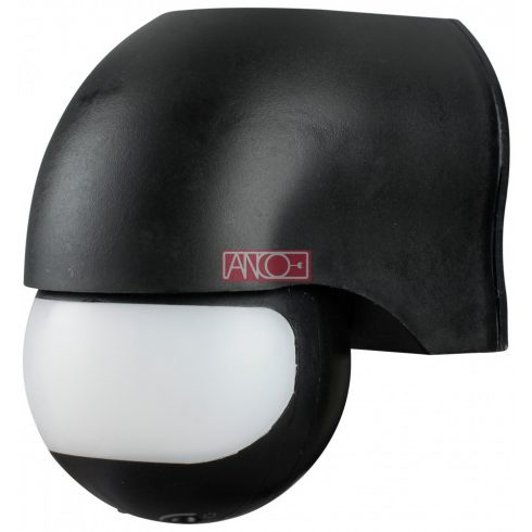 IR motion detector 180°, black
