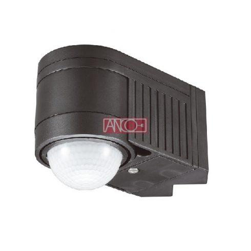 IR wall motion detector 360º, black