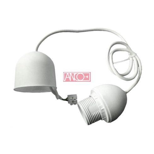 Lámpafüggeszték E27, 70cm, fehér