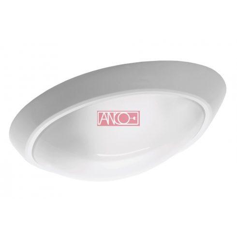 Eliptik lámpatest E27, 60W