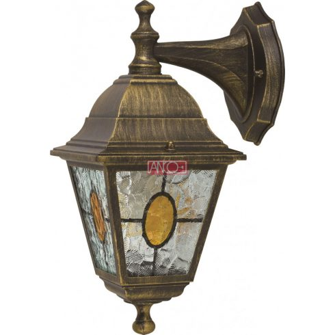 Bük outdoor lamp with tifany glass