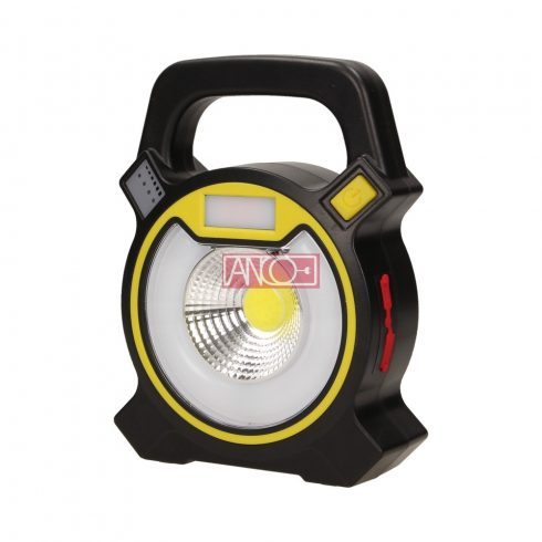 Újratölthető LED hordozható lámpa 5W