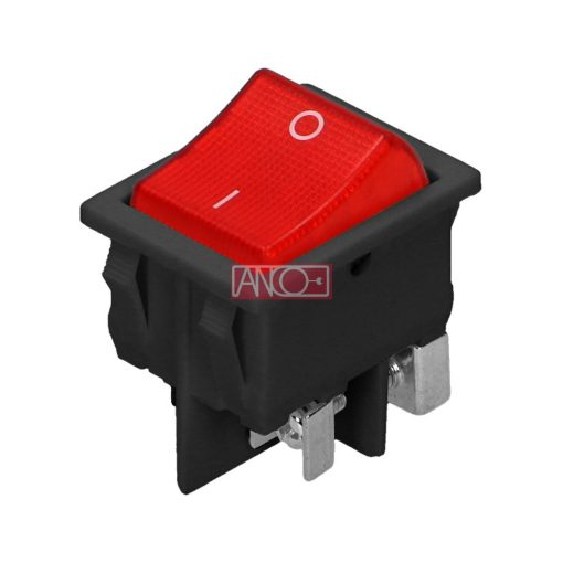 Rocker switch with backlight