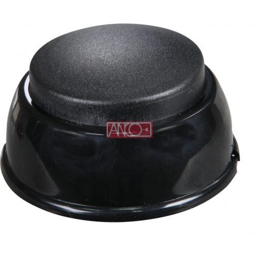 Foot switch, 250V, 2.5A, black