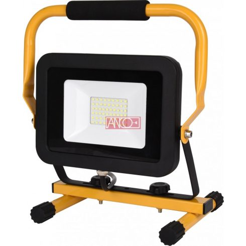 LED floodlight with stand, 30W