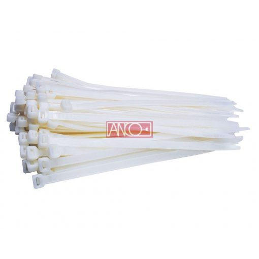 Cable ties 3.5mmx200mm, white