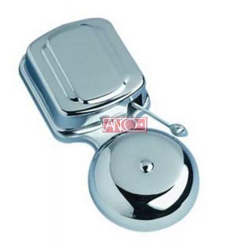 Door bell with metal housing, 8-12V