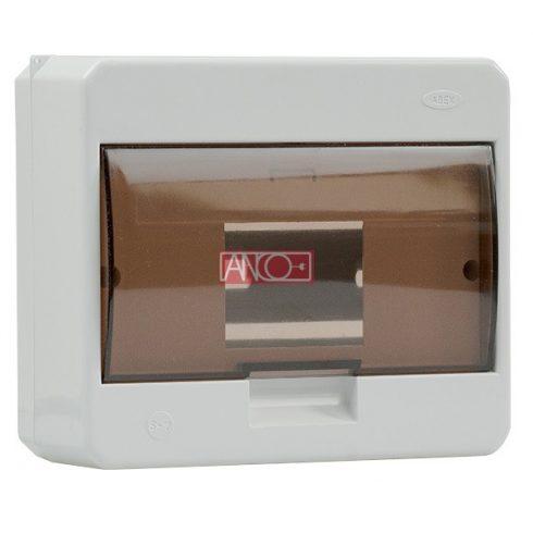 Surface-mounted distribution box, 1 x 7 modul