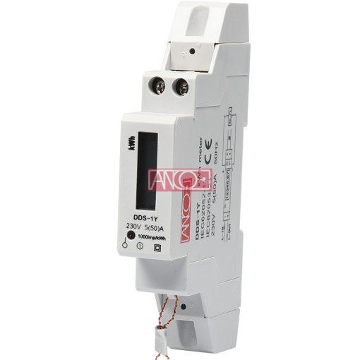 Digital single phase meter, modular