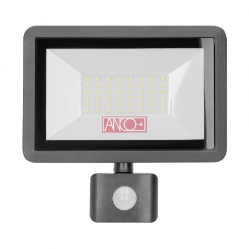 LED floodlight with motion detector 50W