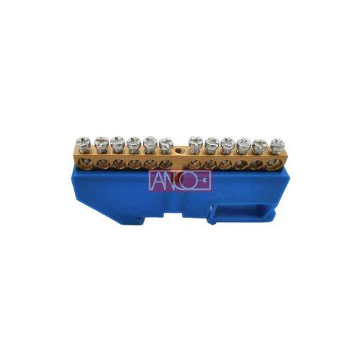 Szigetelt gyüjtősín-földelősín N12