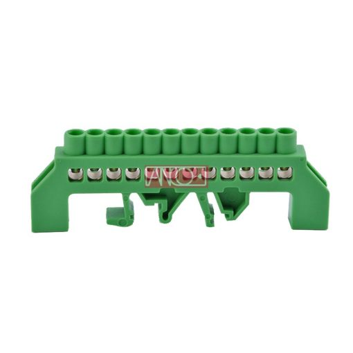 Insulated grounding distribution busbar PE12