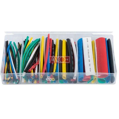 Multicolour heatshrink tubings