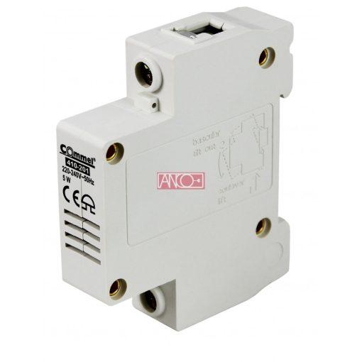 DIN rail doorbell, 230 V~, 80 dB